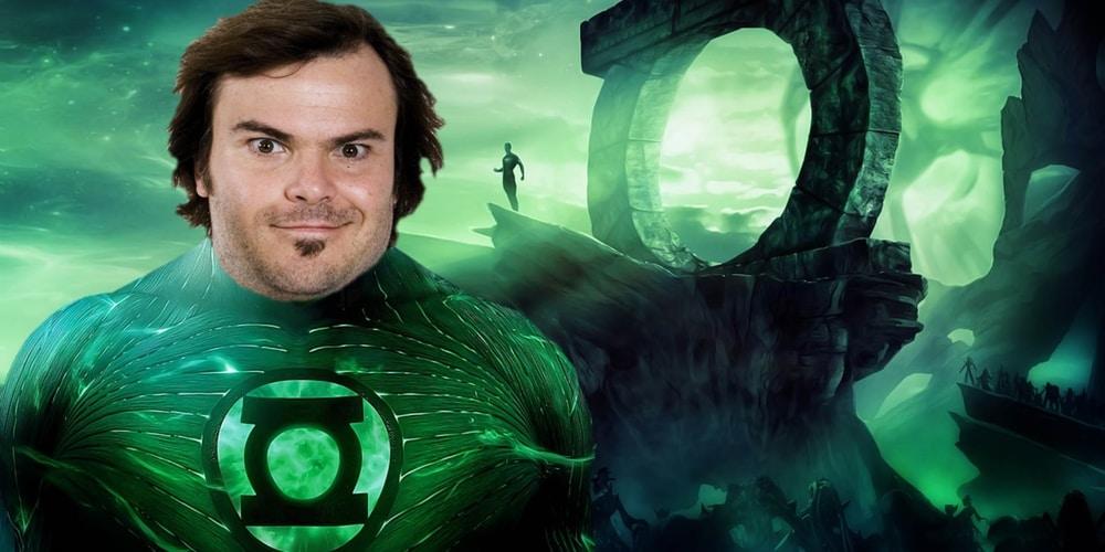 Kincs, ami nincs: Jack Black, mint Zöld Lámpás