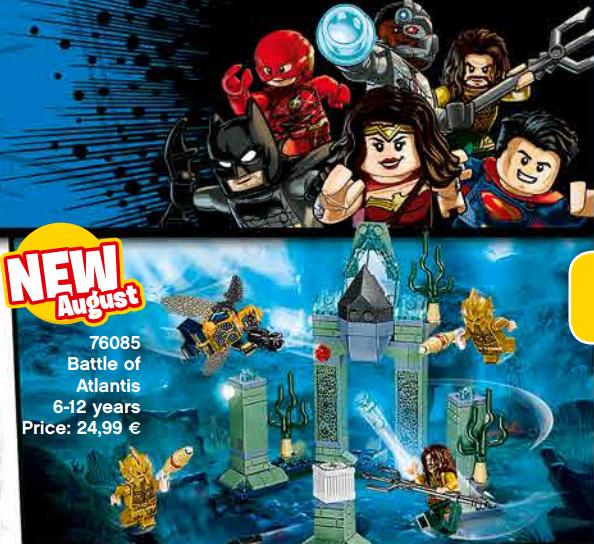 Kiszivárogtak a LEGO Igazság Ligája és Wonder Woman szettek!