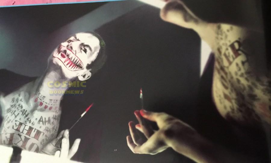 Joker koncepciók a Suicide Squadhoz