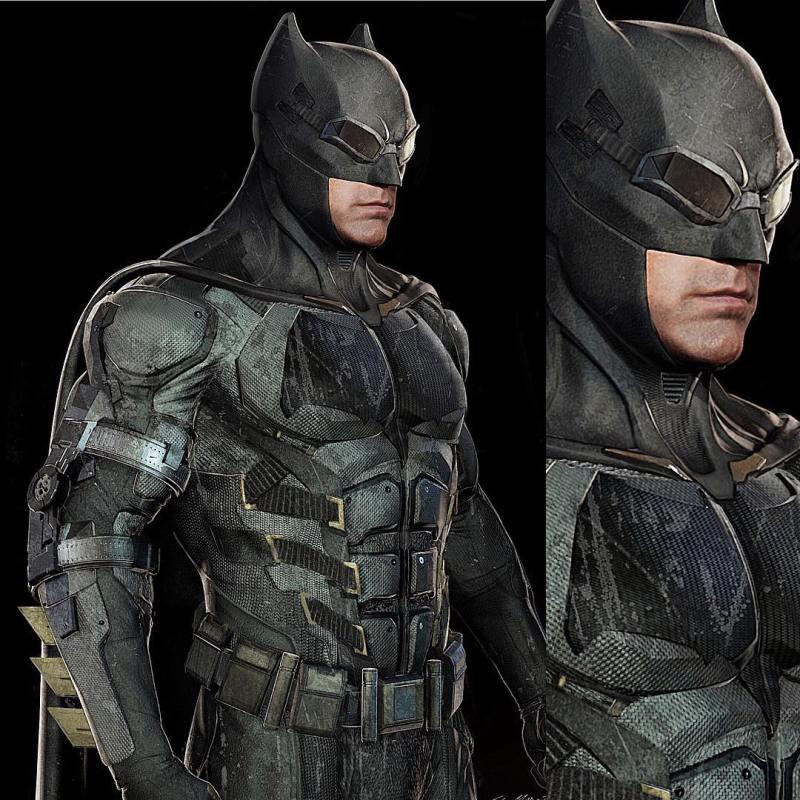 Batman koncepció az Igazság Ligájából