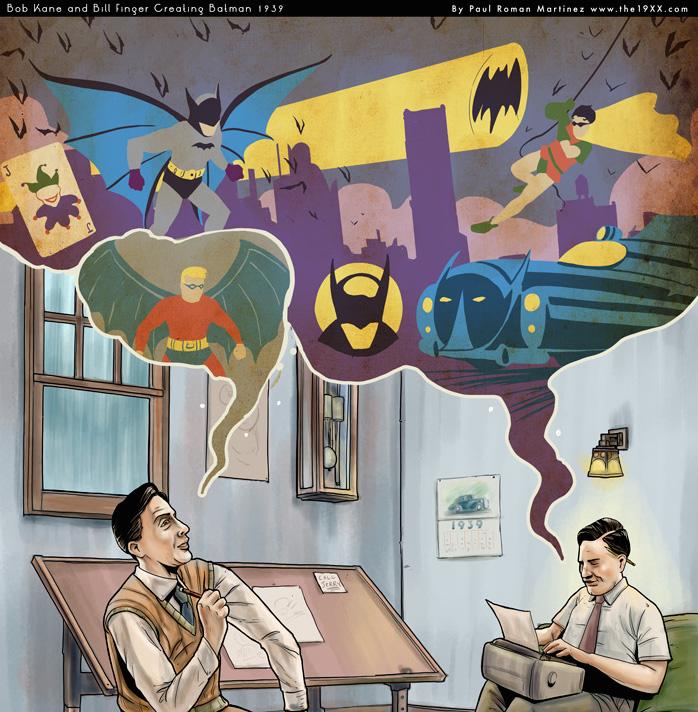 Batman és Bill - avagy az elfeledett alkotó nyomában