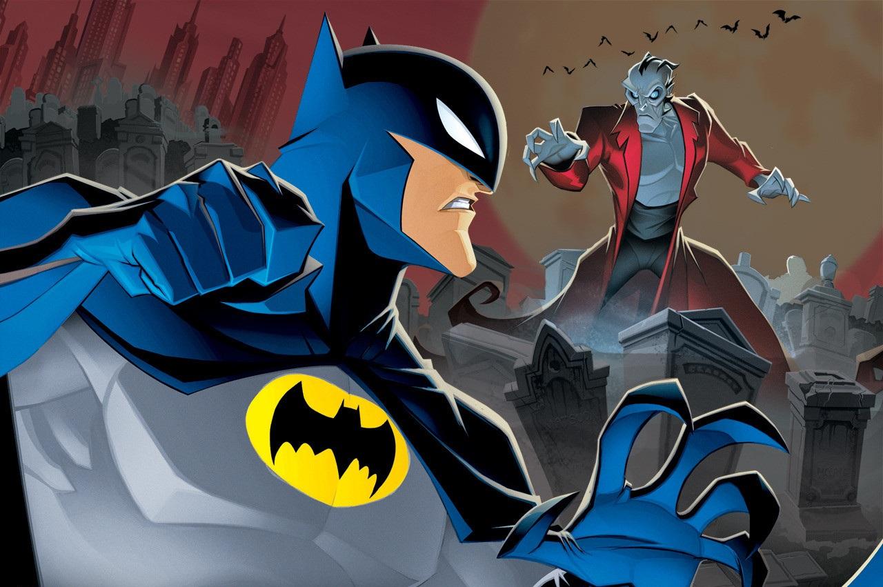 Batman vs Drakula rajzfilm