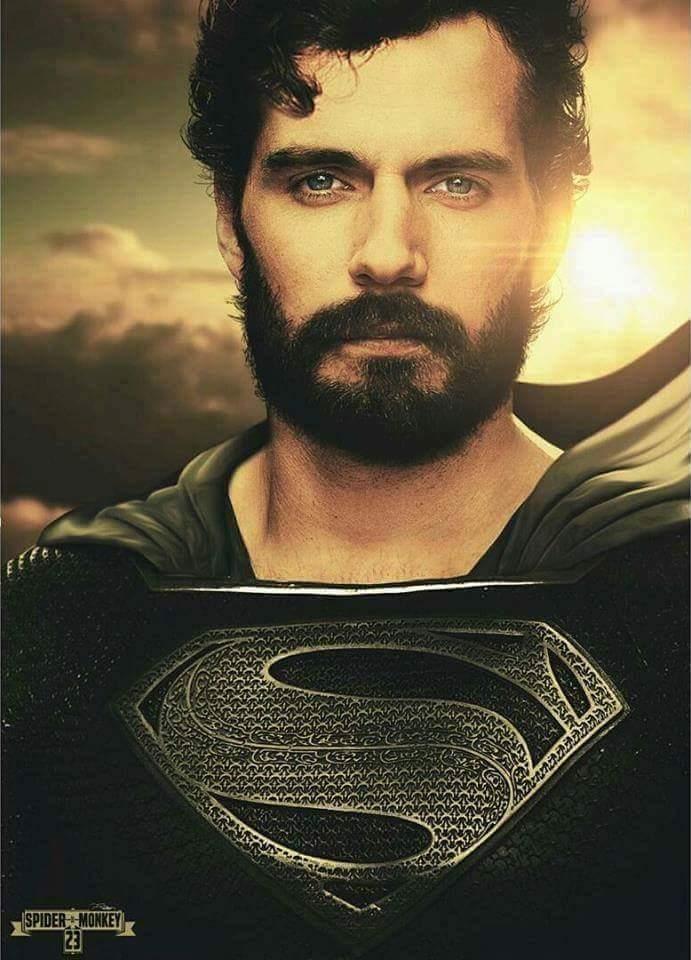 Superman és a hosszú haj (fan art)