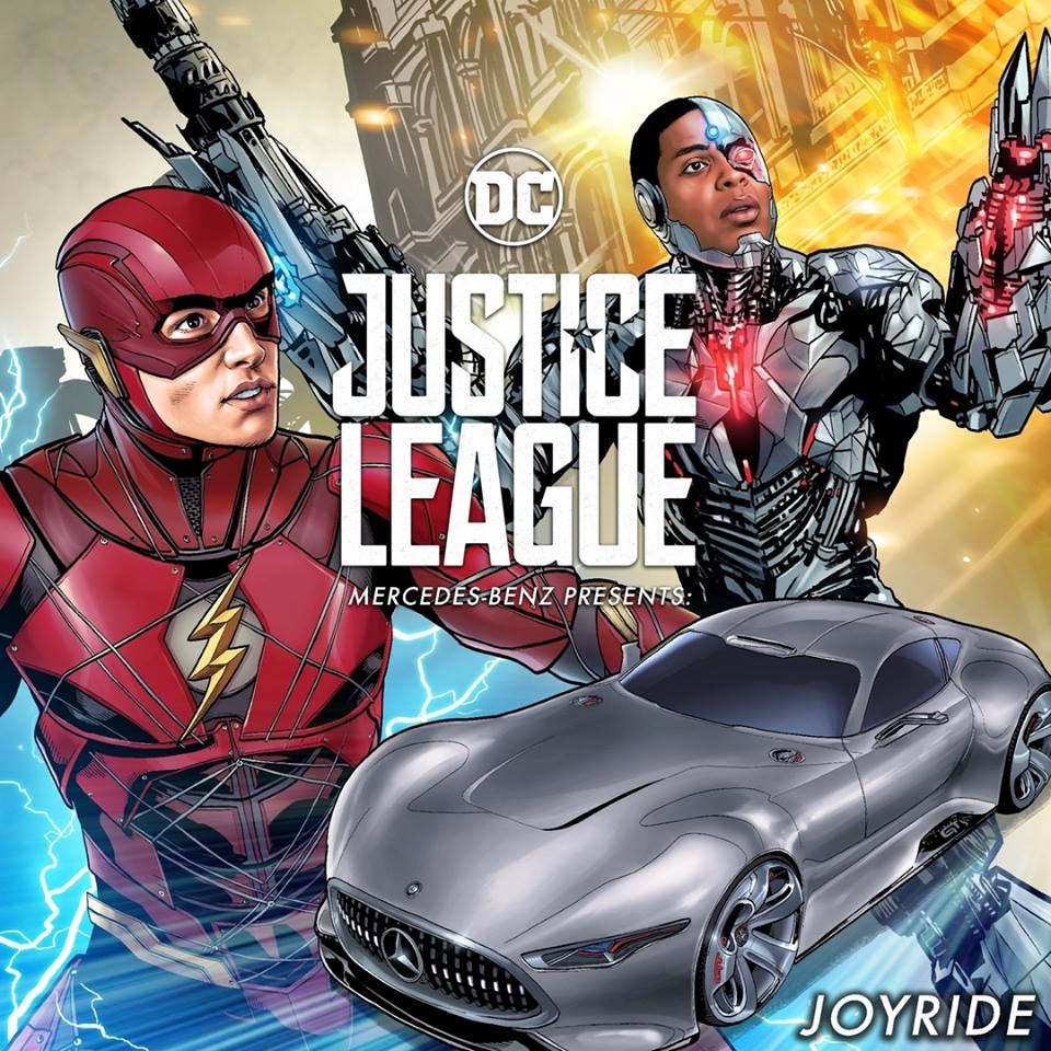 Flash és Cyborg mercis kalandja - Igazság Ligája filmes képregény