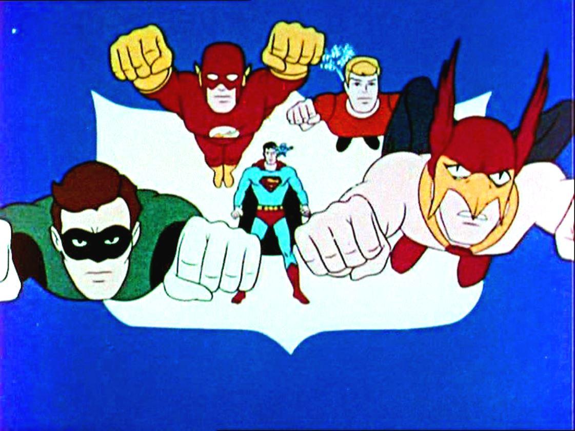 Retro: Igazság Ligája 1967 (rajzfilm)