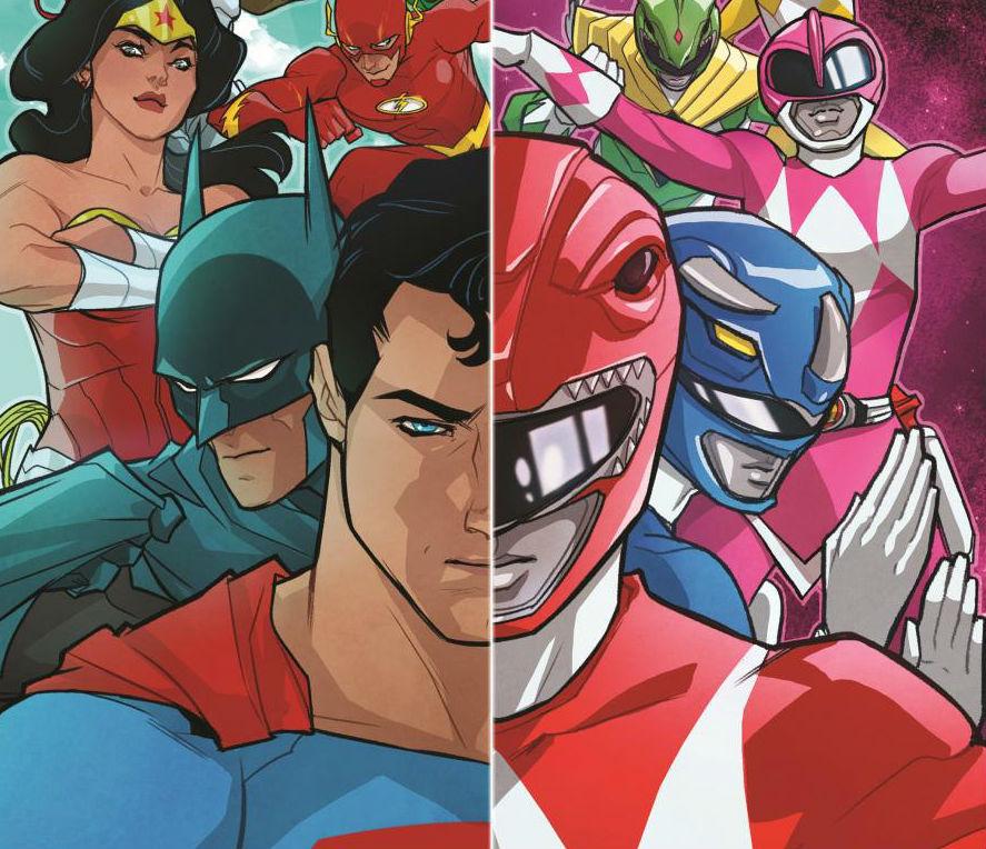 Az Igazság Ligája és a Power Rangerek közös kalandja