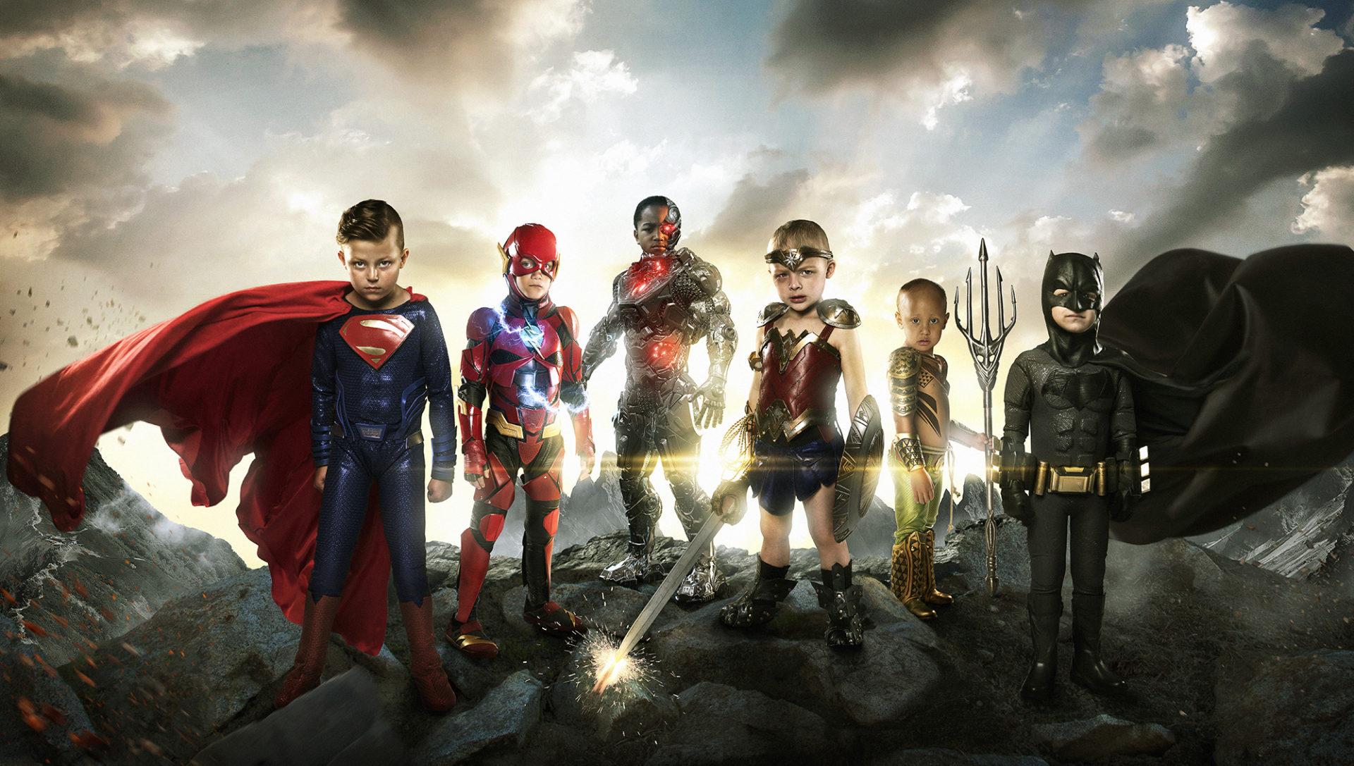 DC hősökké vált gyerekek - Egy fotózás, ami mosolyt csal arcodra