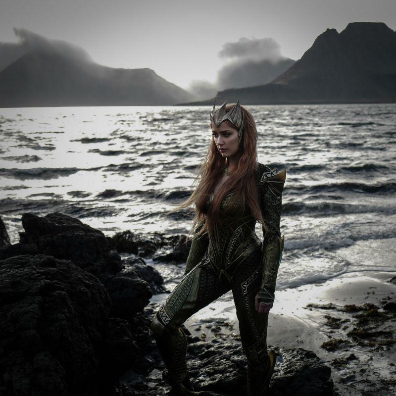 Első hivatalos kép és koncepciók Amber Headről, mint Mera
