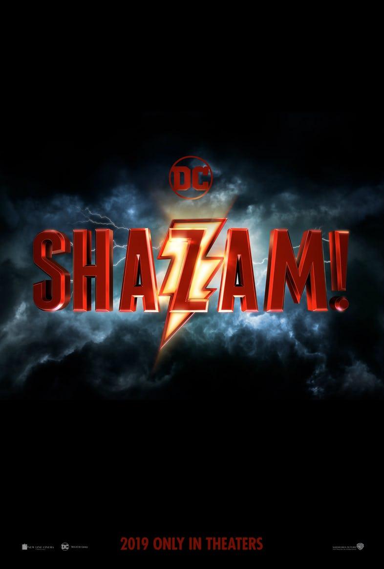 A Shazam! film hivatalos posztert kapott