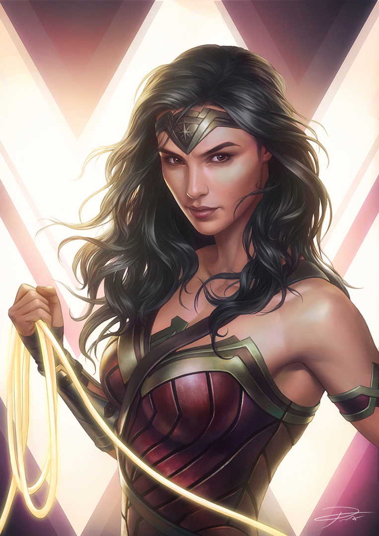 Wonder Woman (Gal Gadot) fan artok