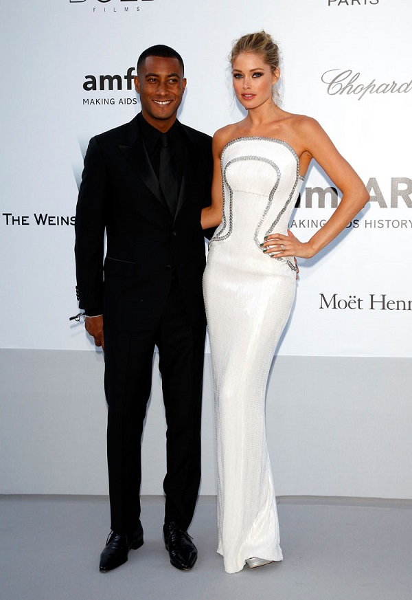 Doutzen-Kroes-with-husband-Sunnery-James-at-the-amfAR-Cannes-2012