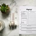 Nyomtatható tervező blogbejegyzésekhez
