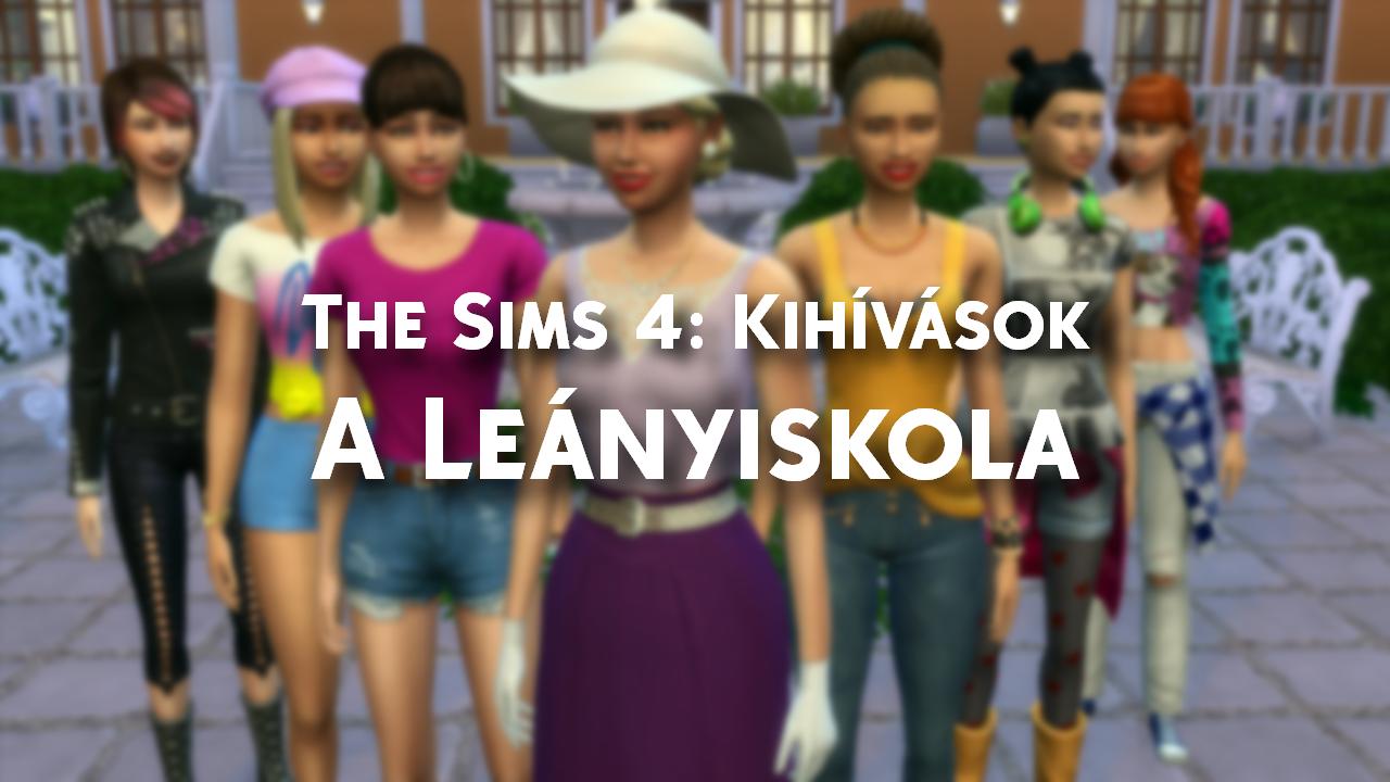 The Sims 4: A leanyiskola - Kihivas