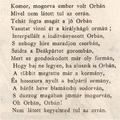 Orbánozó vers 1872-ből