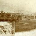 Körösladány, munkások, híd