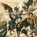 Zergetámadás alpesi hegymászókra