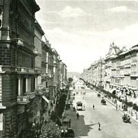 Az Andrássy út az autósvilág előtt