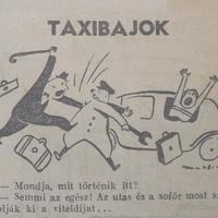 Taxisbajok 70 éve