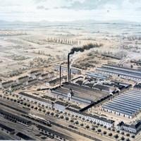 Munka a MÁV Gépgyárban, 1893