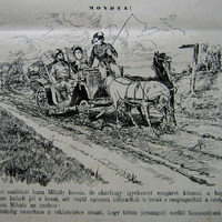 Kátyús út és esküvő 1887-ben