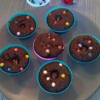 Csokis muffin glutén, tej és tojásmentesen
