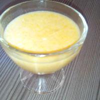 Natúr őszibarackos joghurtpuding