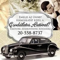 Menyasszonyi autó