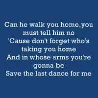 Lassú tánc (Michael Buble: Save the last dance for me)