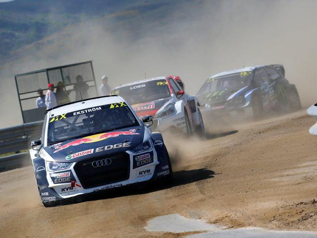 Mattias Ekström uralja a rallycross VB-t