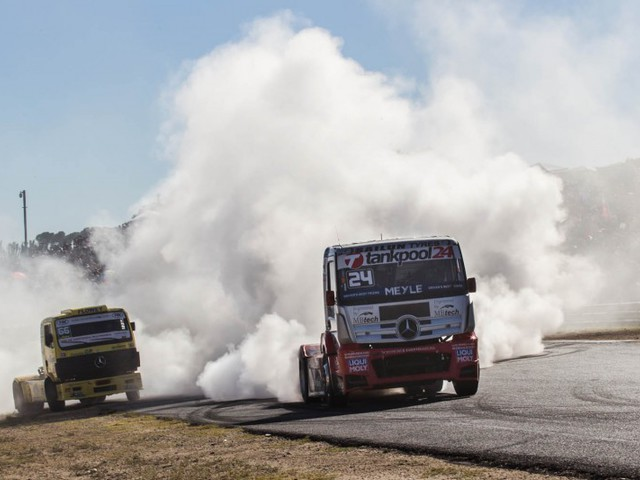 Kiss Norbert harmadik lett a Kamion EB-n