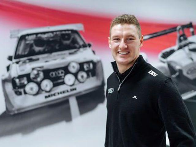 Andreas Bakkerud az EKS Audi Sport csapathoz igazolt