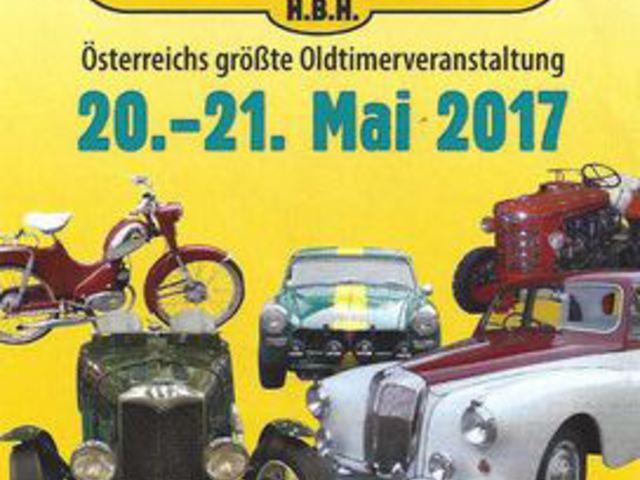 Májusban ismét Oldtimer Messe a Bécshez közeli Tullnban
