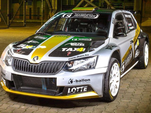 Botka Dávidék negyedik rally EB szezonjukra készülnek