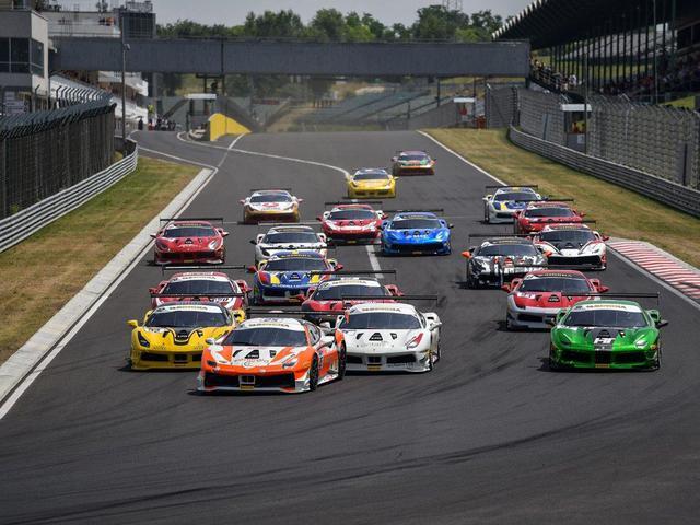 Ferrari Racing Days a Hungaroringen