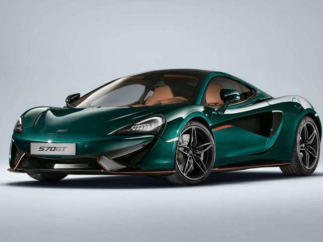 6db McLaren 570GT XP zöld színben