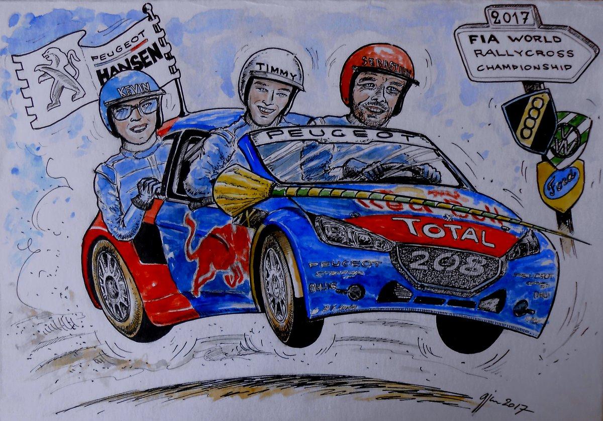 A Hansen és az EKS is három autóval indul a rallycross VB-n!
