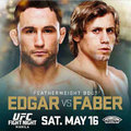 TD MMA: UFC Fight Night 66: Edgar vs. Faber mérlegelés élőben itt!
