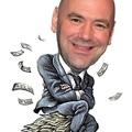 TD MMA: A több meló több fizetést jelent? Úgy fest, Dana Whitenak igen