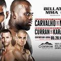 TD MMA: Bellator 155: Carvalho vs. Manhoef élő közvetítés