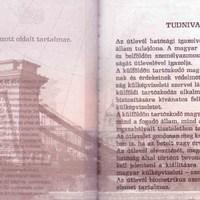 Margaret, a magyar útlevél díjnyertes betűje