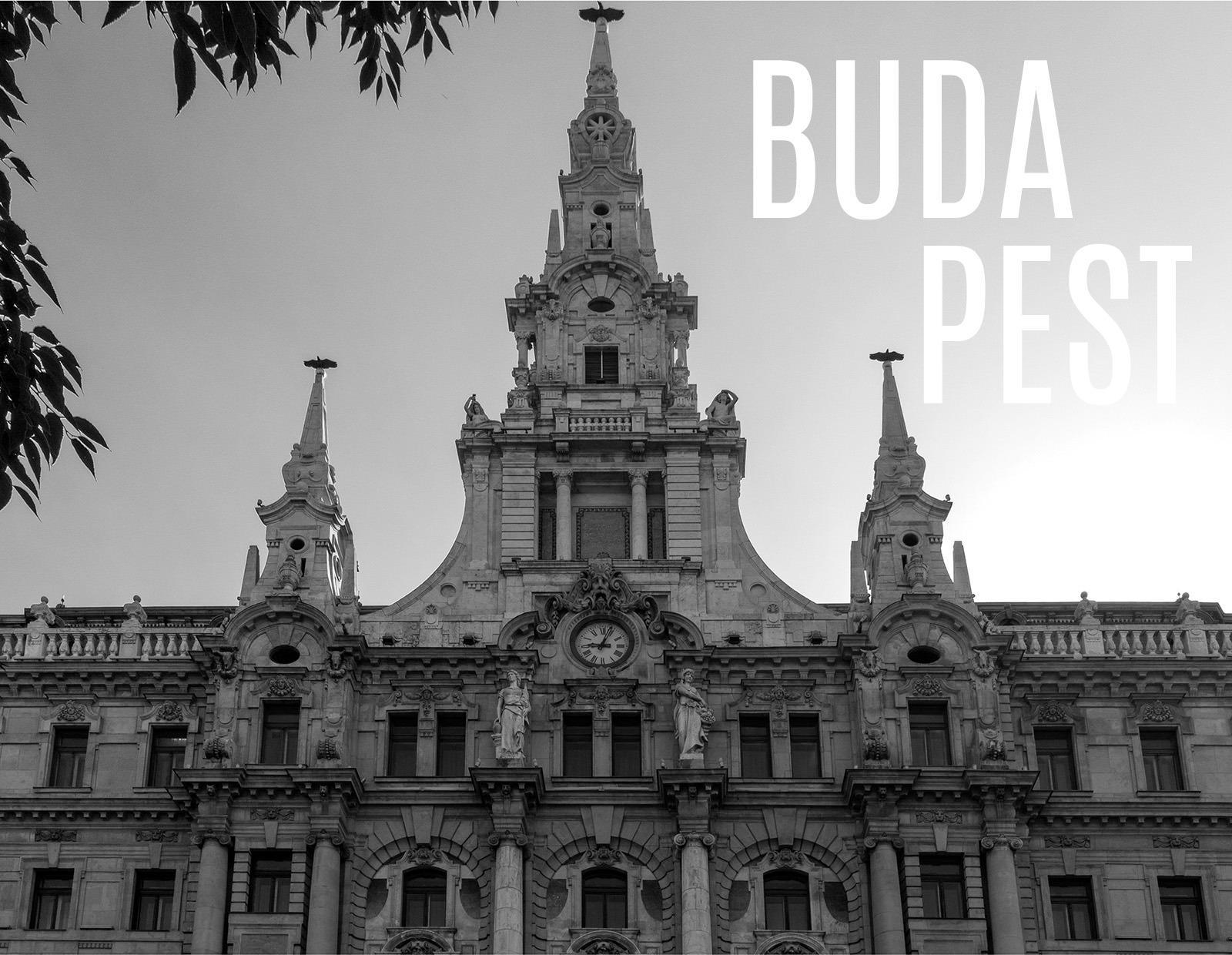 Budapest egy biciklis fotós kameráján keresztül