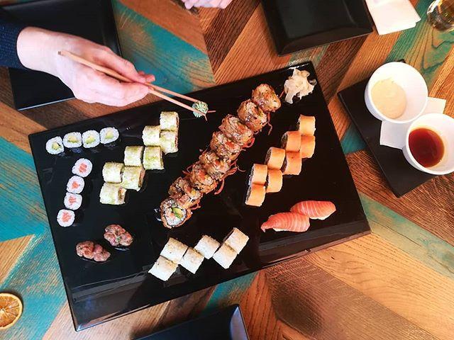Sushi, Japanika étterem