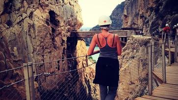 Caminito Del Rey, avagy a megszelídített ösvény