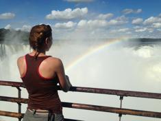Iguazú vízesés: a színpad és a nézőtér