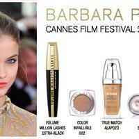 Palvin Barbi 2012-es cannes-i sminkje
