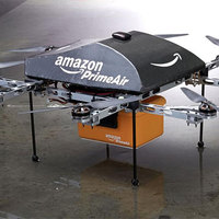 Az Amazon engedélyt kért a csomagküldő drónok használatára