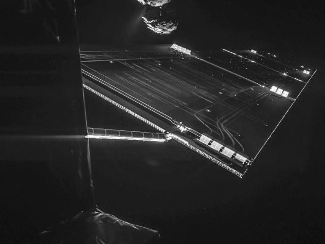 """A Rosetta """"szelfije"""" és az üstökös zenéje"""