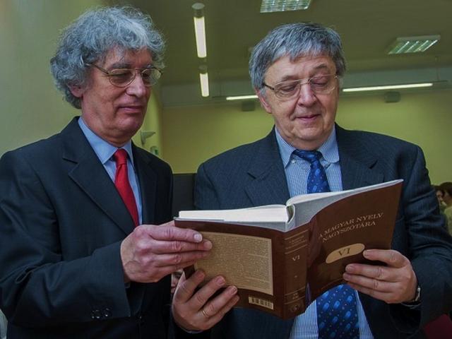 Értékmentés az MTA-n: hatodik kötetéhez érkezett A magyar nyelv nagyszótára