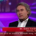 Dr. Erőss Loránd idegsebész, a Máltai Lovagrend tagja a 2014. Prima Primissima Díj jelöltje