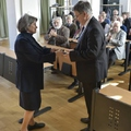 Szőkefalvi-Nagy Béla Éremmel tüntették ki Lovász László matematikust, az MTA elnökét